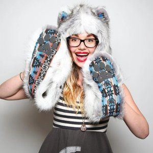 SpiritHoods Timber Wolf Collectors Edition Unisex